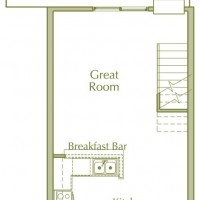 Hidden Ponds Pewaukee apartment 1Bed Loft Lower floor plan
