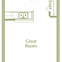 Hidden Ponds Pewaukee apartment Studio floor plan