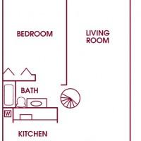 Fairway Meadows Franklin 2Bed 2Bath Loft Lower floor plan